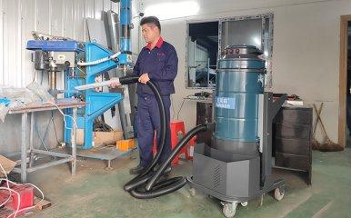 金属冲钻机床配套用工业吸尘器